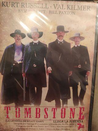 película DVD nueva del oeste.