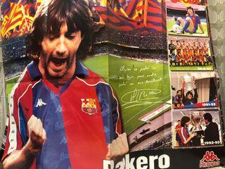 1996 PÓSTER BAKERO FC. BARCELONA