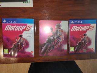 Juego Moto GP 19 PS4 - Steelbook Ed.