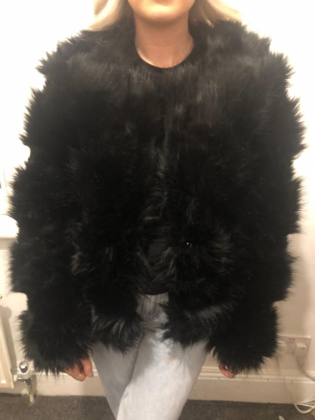New look women's fur jacket