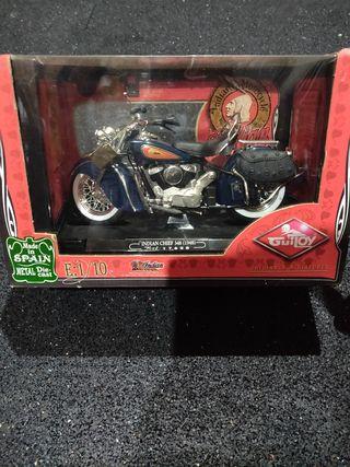 maqueta moto guitoy