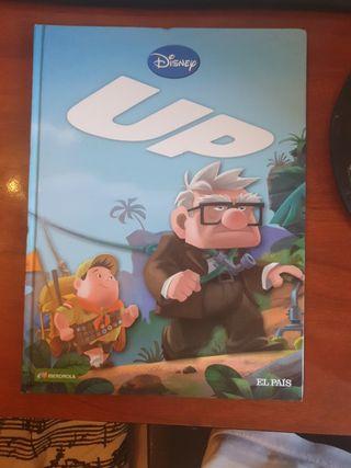adaptación en cómic de la película Up de Pixar