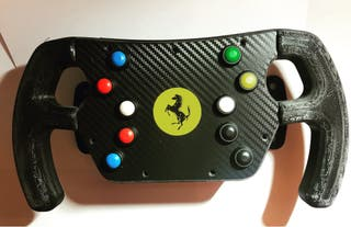 Aro de volante tipo F1 por encargo