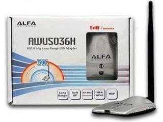Antena wifi Alfa AWUS036H
