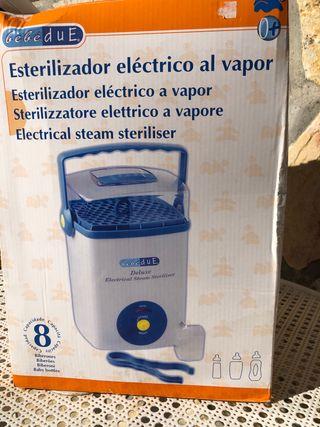 Esterilizador eléctrico bebé Due