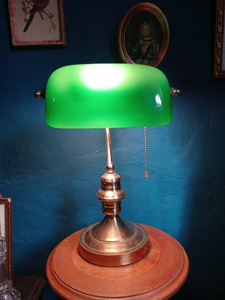 lampara de despacho opalina