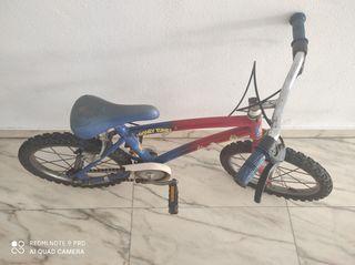 bicicleta niños de hasta 4o 5 años