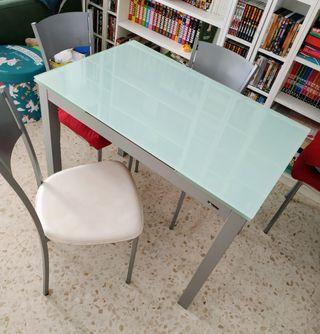mesa y sillas cocina/comedor