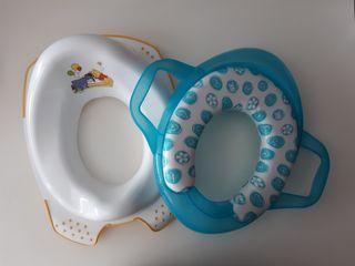 Asiento reductor WC niños