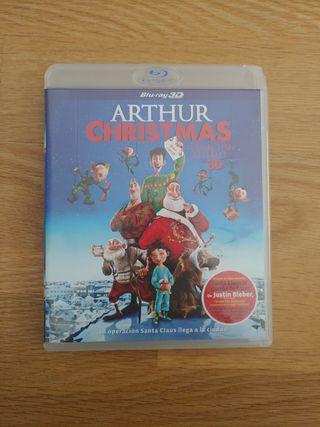 Pelicula Bluray 3D Arthur Christmas