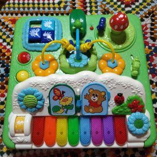 Juguete bebé interactivo piano