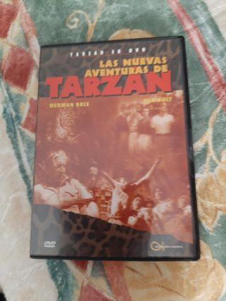 la nueva aventura de Tarzan.