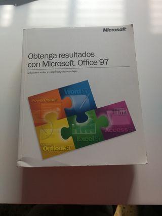 """Libro""""Obtenga resultados con Microsoft Office 97"""""""