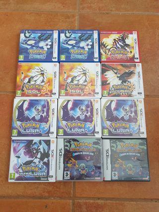 Juegos Pokémon Nintendo 3ds