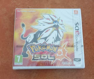Pokémon Sol nintendo 3ds( Precintado )