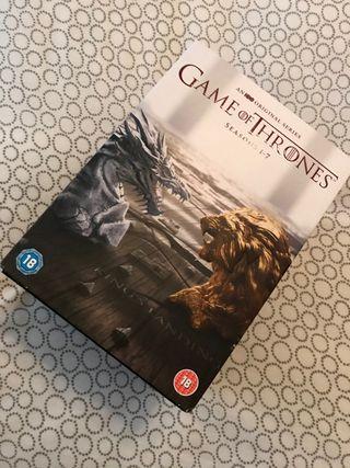 Game of Thrones dvd, seasons 1-7