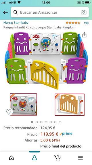 Parque infantil XL modulable
