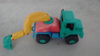Tractor - pala retroexcavadora