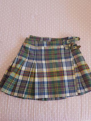 Falda escocesa Polo Ralph Lauren