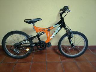 "bicicleta de 20"" para niños"