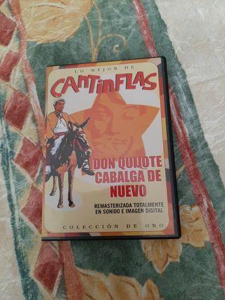 Cantinflas. Don Quijote cabalga de nuevo.