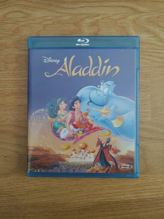 Película Bluray Aladin Disney