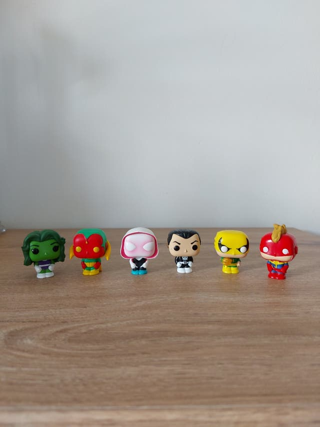 figurine pop pocket lot