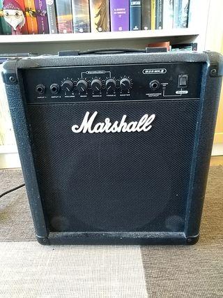 Amplificador Bajo Marshall 25W