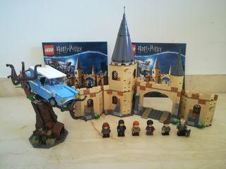 lego sauce boxeador hogwarts 75953