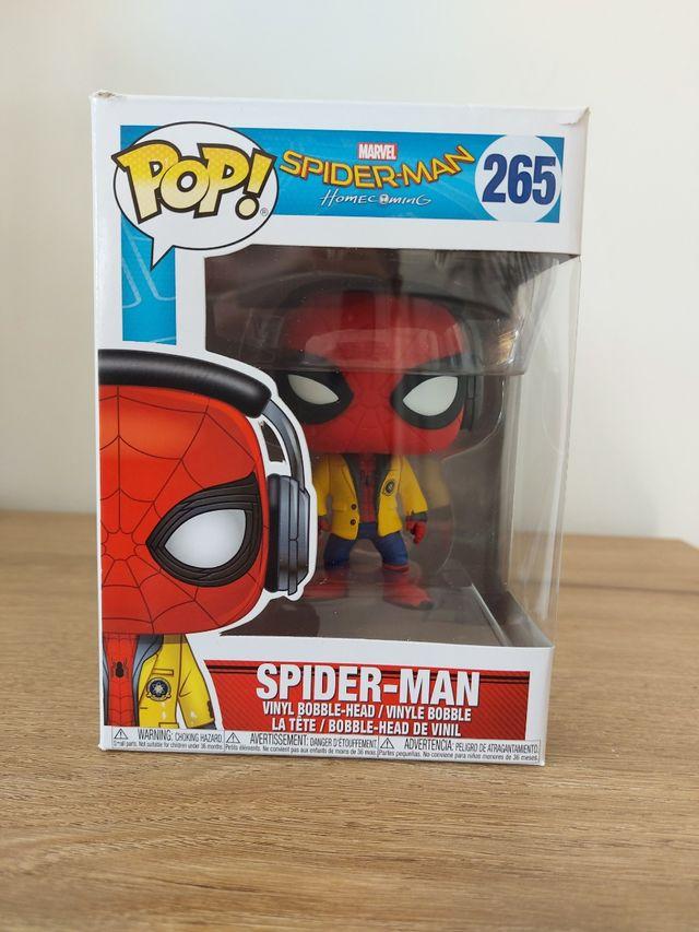 figurine pop spider man