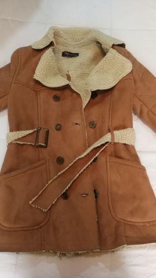 abrigo pelliza talla s