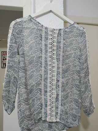 blusa Sfera casual talla S