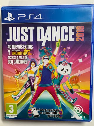 Just Dance 2018 para PS4