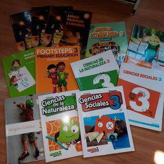 Set de libros de texto 3° de primaria