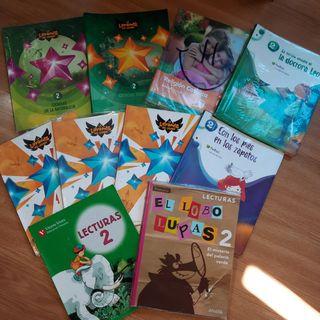 Set de libros de texto 2° de primaria