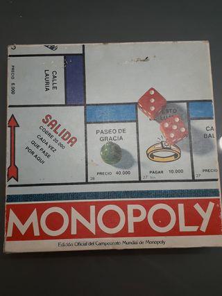 Juego de mesa Monopoly Barcelona