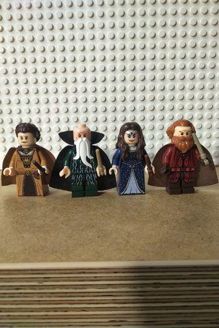 Minifiguras Fundadores Hogwarts Lego Harry Potter