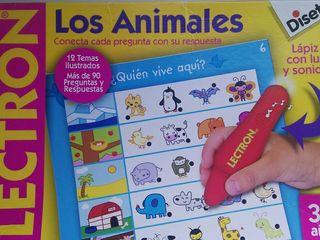 """Juego """"Lectron.Los animales."""""""