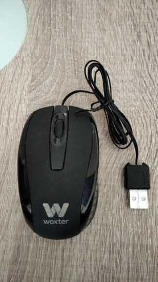 Ratón óptico mediano USB