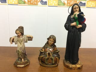 Lote Imágenes antiguas religiosas