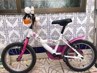 """Bicicleta 16"""" niña"""
