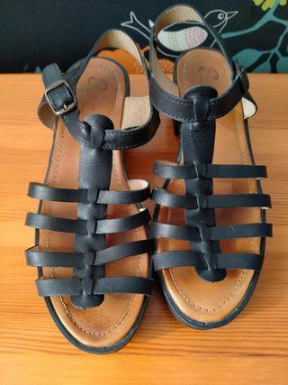 Sandalias Romanas de plataforma
