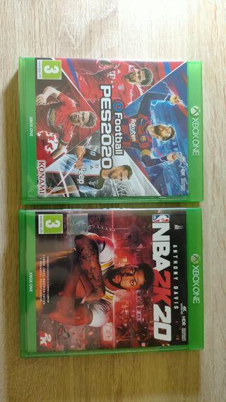 NBA 2k20 + Pro 2020 - Xbox One