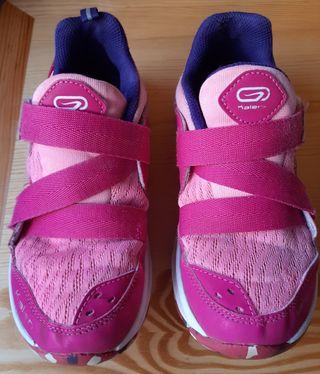 Zapatillas Running Niña Kalenji Decathlon. N° 34