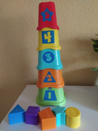 Cubos apilables Chicco
