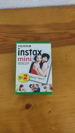 Fujifilm Instax Mini paquete sin abrir