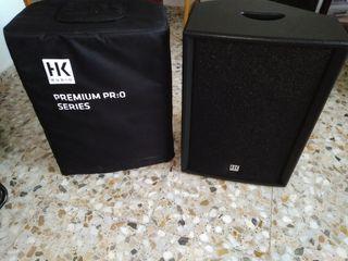 2 Altavoces HK PRO:O 12 XD