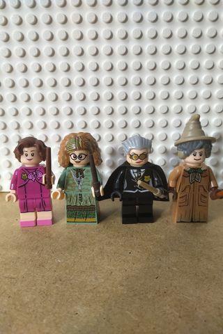 Minifiguras Profesoras Hogwarts Lego Harry Potter
