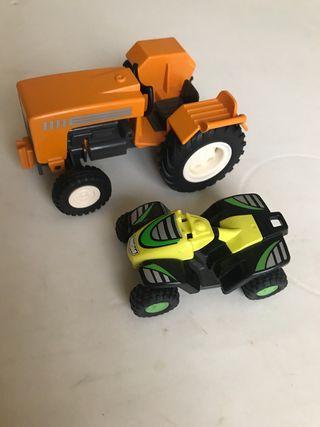 Tractor y Quad Playmobil