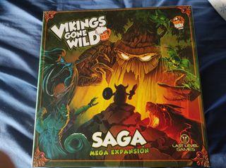 Vikings Gone Wild+Megaexpansión Español Juego Mesa